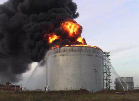 Аварии на объектах Газпрома