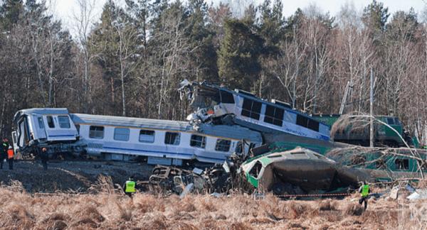 Статистка железнодорожных аварий