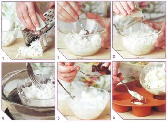 Домашняя продукция из детского мыла