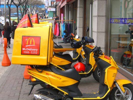 Доставка Макдональдс по Москве