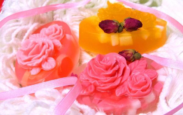 Продукция для мастер класса по изготовлению домашнего мыла