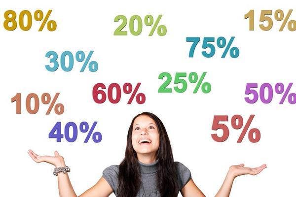 большинство товаров и услуг, предполагает предварительное максимальное завышение стоимости, на уровне 90%.