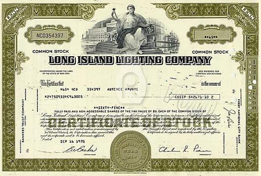 Сертификат на дивиденды