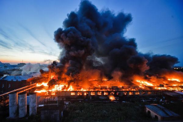Статистика пожаров в России