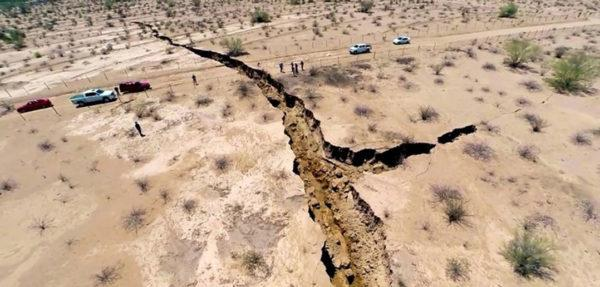 Возобновление тектонических процессов