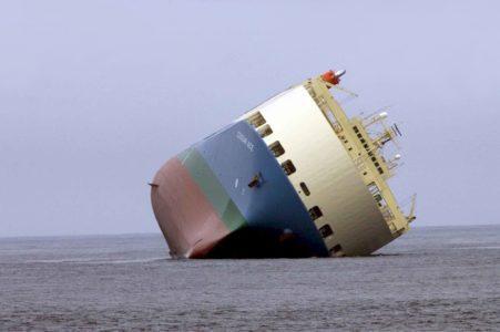 Статистика аварий водного транспорта
