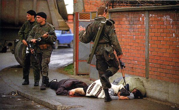 Жестокость во время войны в Югославии