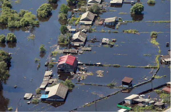 Наводнения в Беларуси