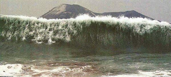 Природа происхождения цунами