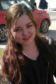Анжела Бурмистрова, студентка