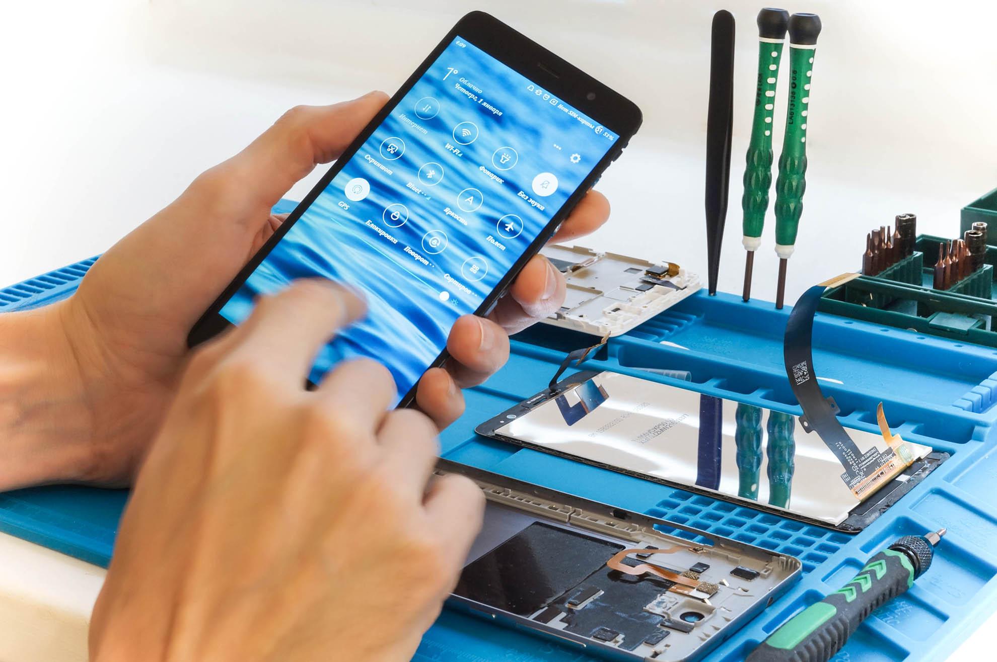 Поломки мобильных устройств