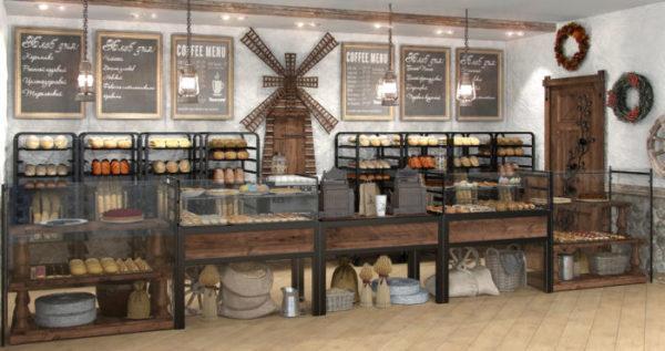 пекарня оформление