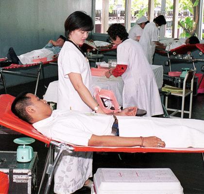 Кровь на донорство