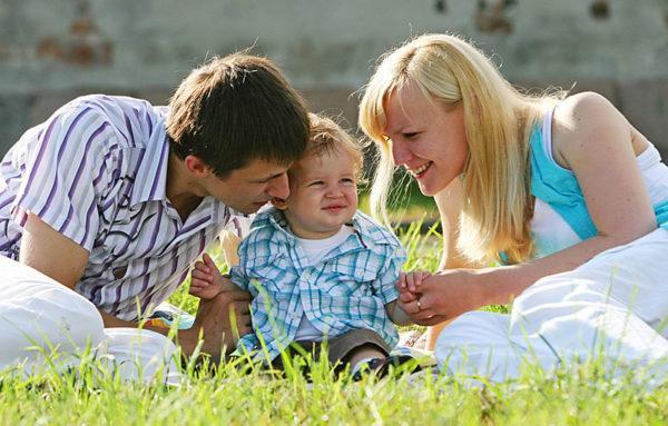 Семья с 1 ребенком