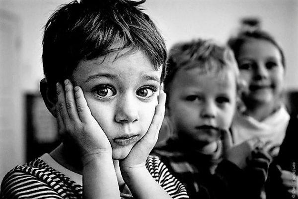 Воспитанники детских домов