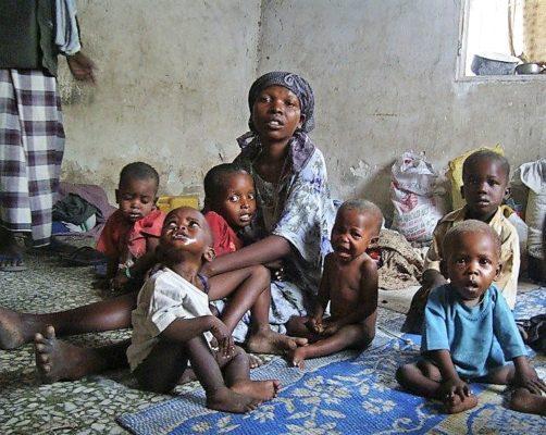 Голодающие в Африке