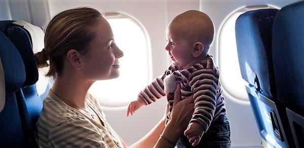 Правила авиаперевозок с детьми