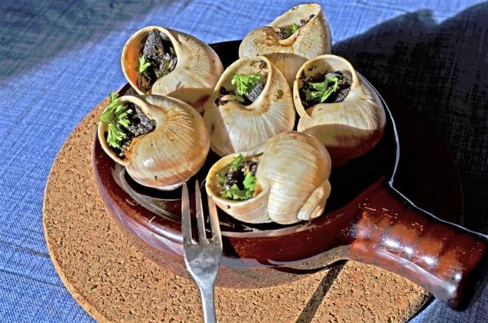 Блюда из улиток