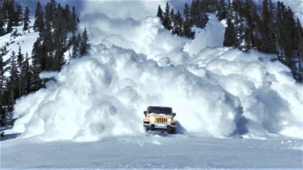 Сход снежных лавин