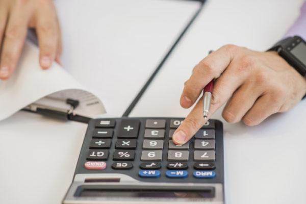Расчет беспроцентного кредита