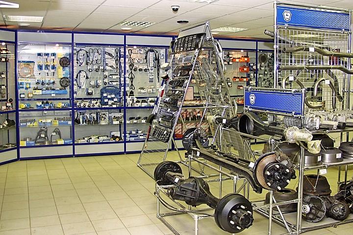 Оборудование для магазина автозапчастей