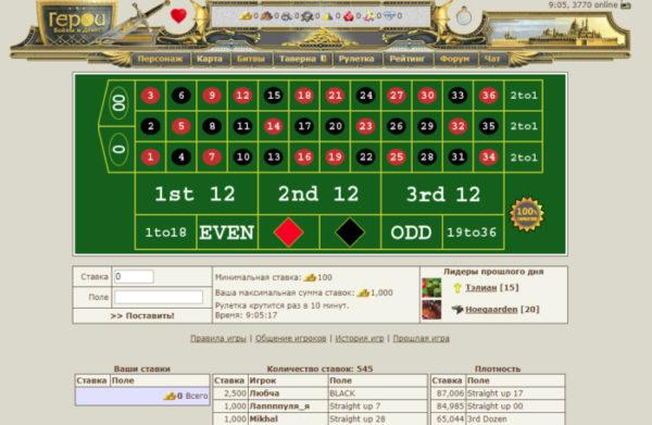 Героях войны и денег рулетка рулетка казино карты вегас