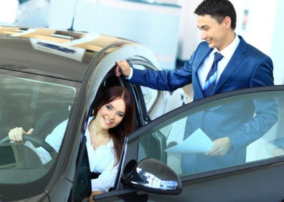 Покупка авто в кредит в автосалоне