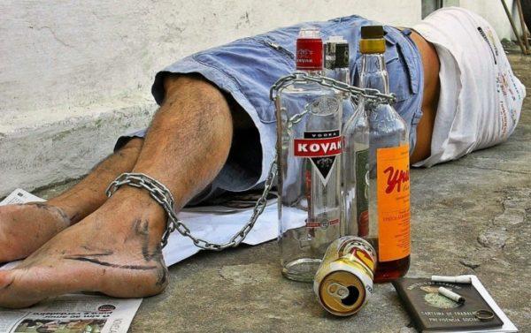Смерть от алкоголизма описание