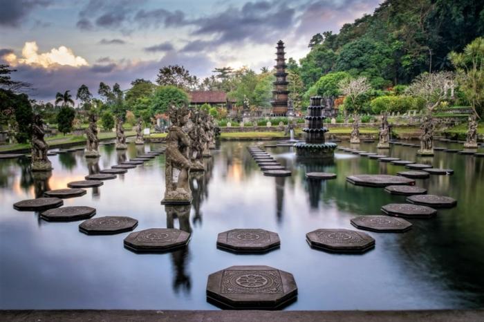 Водные дворцы на Бали