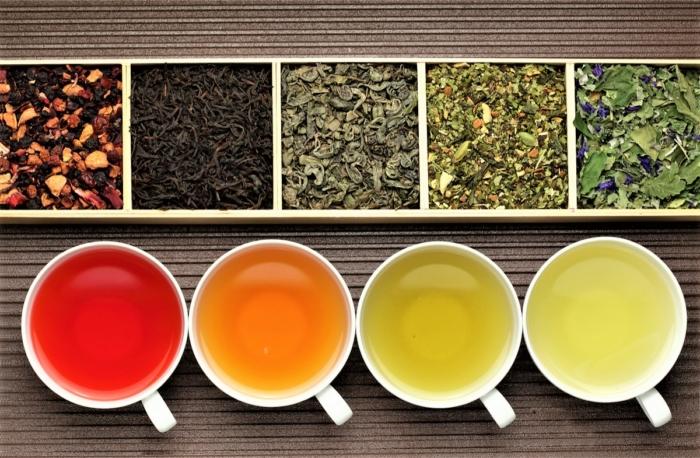 Ассортимент чайной продукции