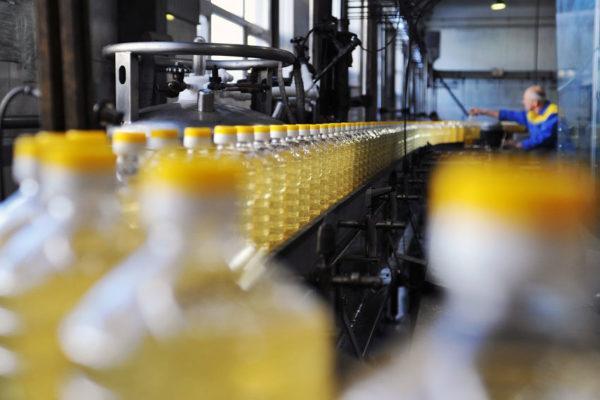 производство подсолнечного масла в россии