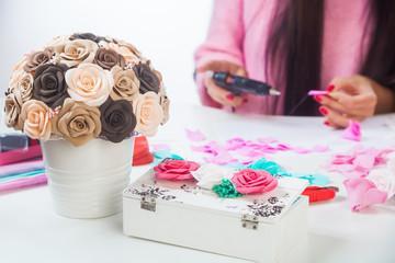 Организация производства искусственных цветов