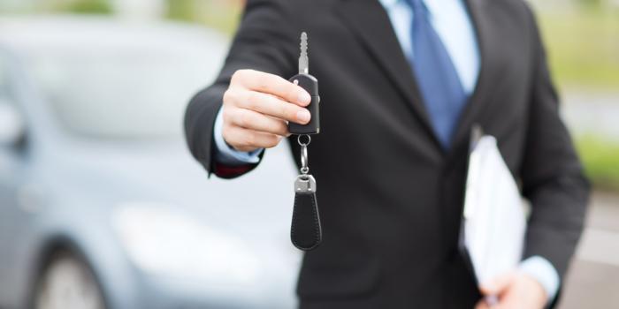 Ключи от новой машины
