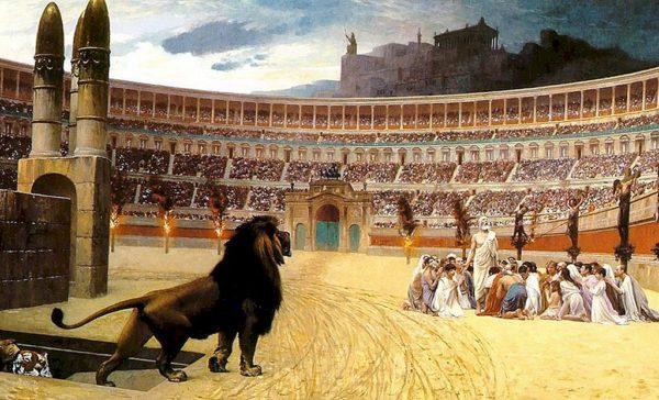 Казнь христиан при Нероне