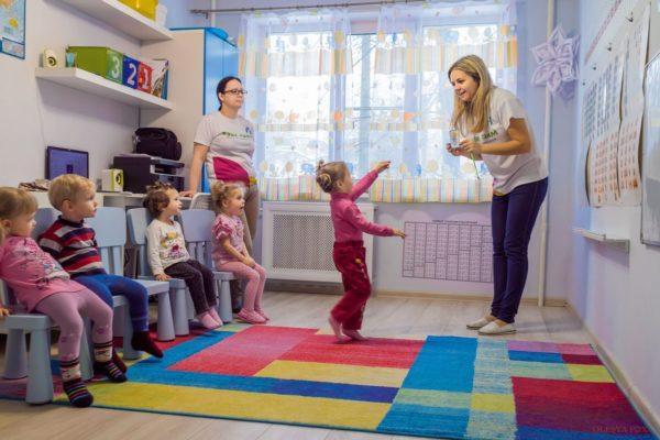 уроки в детском развивающем центре