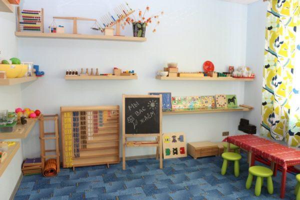 интерьер детского развивающего центра