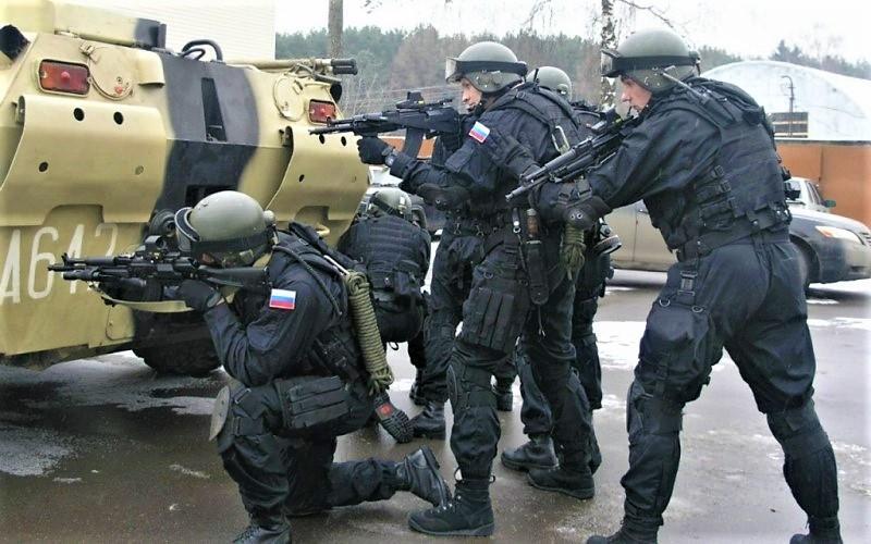 Бойцы специального назначения