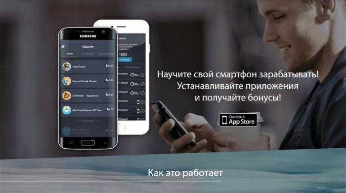 Приложения для заработка на мобильном телефоне