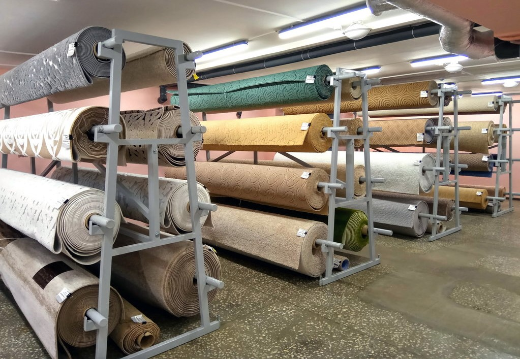 Оборудование для магазина ковров