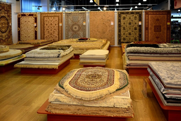Ассортимент ковровых изделий