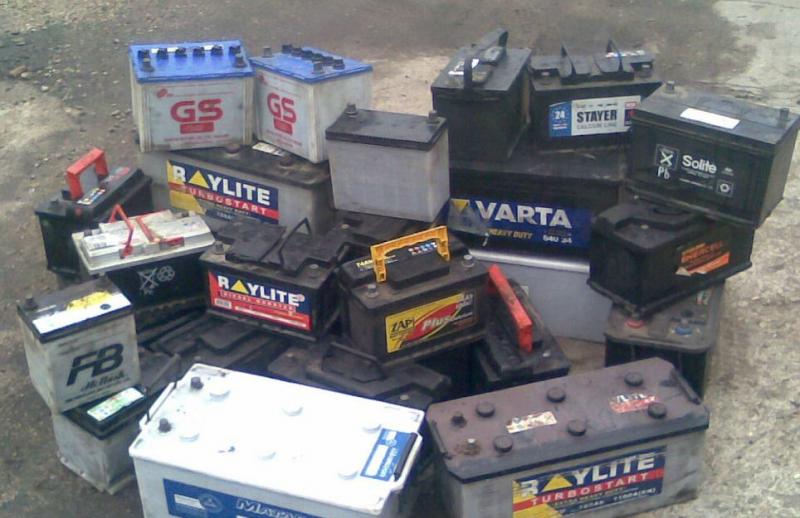 Зачем скупают старые аккумуляторы