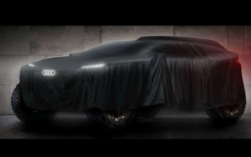 Audi разработает новый внедорожник для участия в «Дакаре»