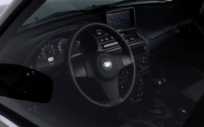 «АвтоВАЗ» показал салон новой Lada Niva Travel. Видео