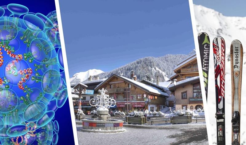 Четыреста туристов сбежали из карантина на горнолыжном курорте Швейцарии