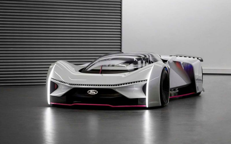 Ford показал дистанционно разработанный спорткар