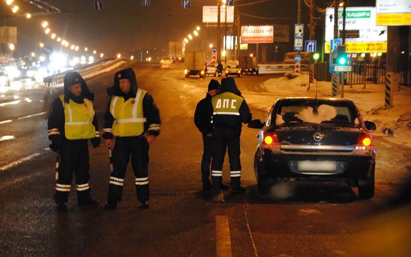 ГИБДД начала «охоту» на пьяных водителей