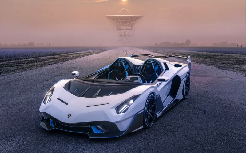 Lamborghini представила уникальный 770-сильный суперкар