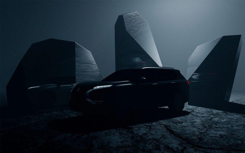 Mitsubishi опубликовала первое изображение нового Outlander