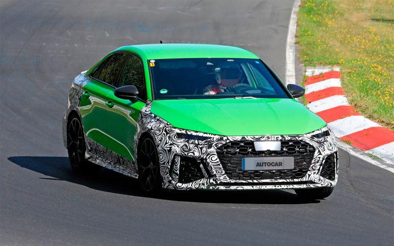 Новый Audi RS3 получит двигатель мощностью более 400 лошадиных сил