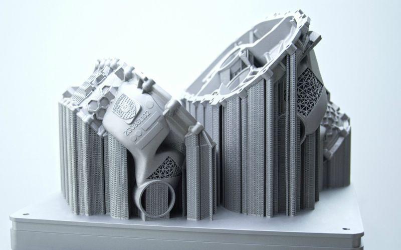 Porsche напечатала первый корпус электромотора на 3D-принтере